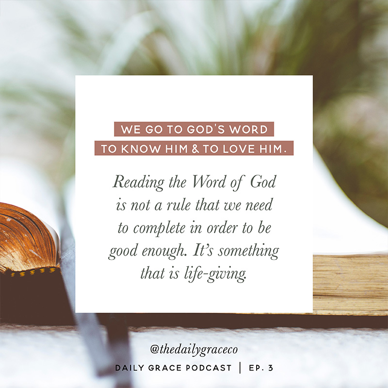 Bible Study in Busy Seasons   Ep  3 – Daily Grace Podcast